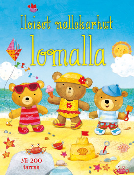 Iloiset_nallekarhut_lomalla___tarrakirja