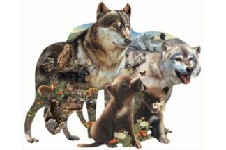 Bonnie__Rebecca_and_Karen_Latham___Wolf_Pack_____Puzzle_1_000_pieces
