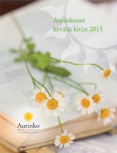 Aurinko Kustannuksen kevään 2015 tuoteluettelo