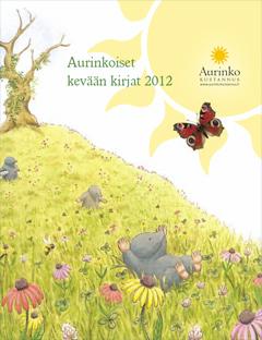 Aurinko Kustannuksen kevään 2012 tuoteluettelo