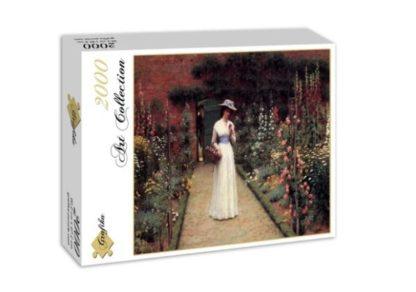 Edmund_Blair_Leighton__Lady_in_a_Garden