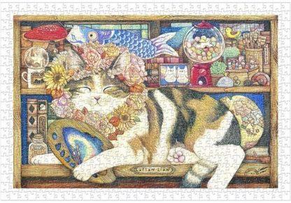 Pumpulileijona___Cotton_Lion___Cat_Artist__palapeli