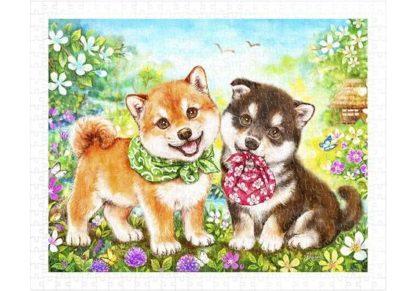 Koiranpentujen_esimmainen_tehtava___Shiba_Puppies__First_Errand