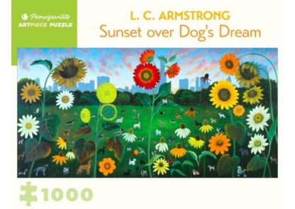 L__C__Armstrong___Sunset_over_Dog_s_Dream_____Puzzle_1_000_pieces___