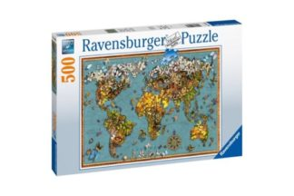 World_of_butterflies__Palapeli__500_palaa__Ravensburger