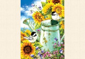Dona_Gelsinger___Sunflower_Garden___1000_palan_palapeli